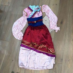 Mulan Disney Princess Costume Child Medium 8-10yr